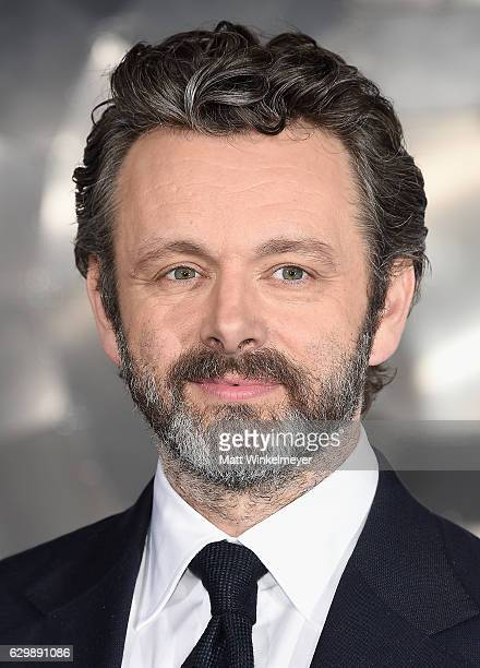 """Actor Michael Sheen attends the premiere of Columbia Pictures' """"Passengers"""" at Regency Village Theatre on December 14, 2016 in Westwood, California."""