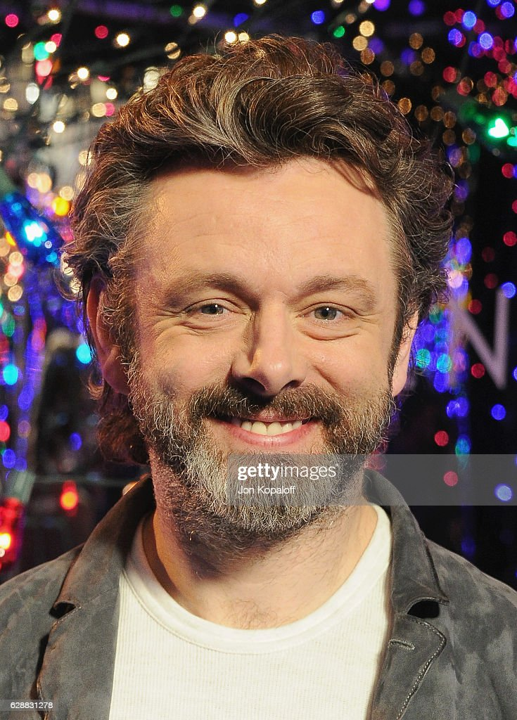 Actor Michael Sheen poses at the photo call for Columbia Pictures' 'Passengers' at the Four Seasons Hotel Los Angeles at Beverly Hills on December 9, 2016 in Los Angeles, California.