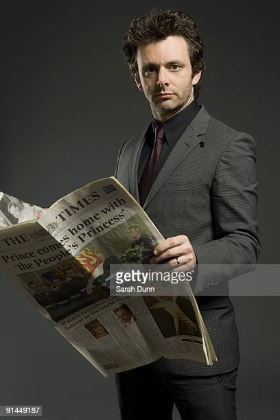 Actor Michael Sheen poses for a portrait shoot in London on May 20 2009