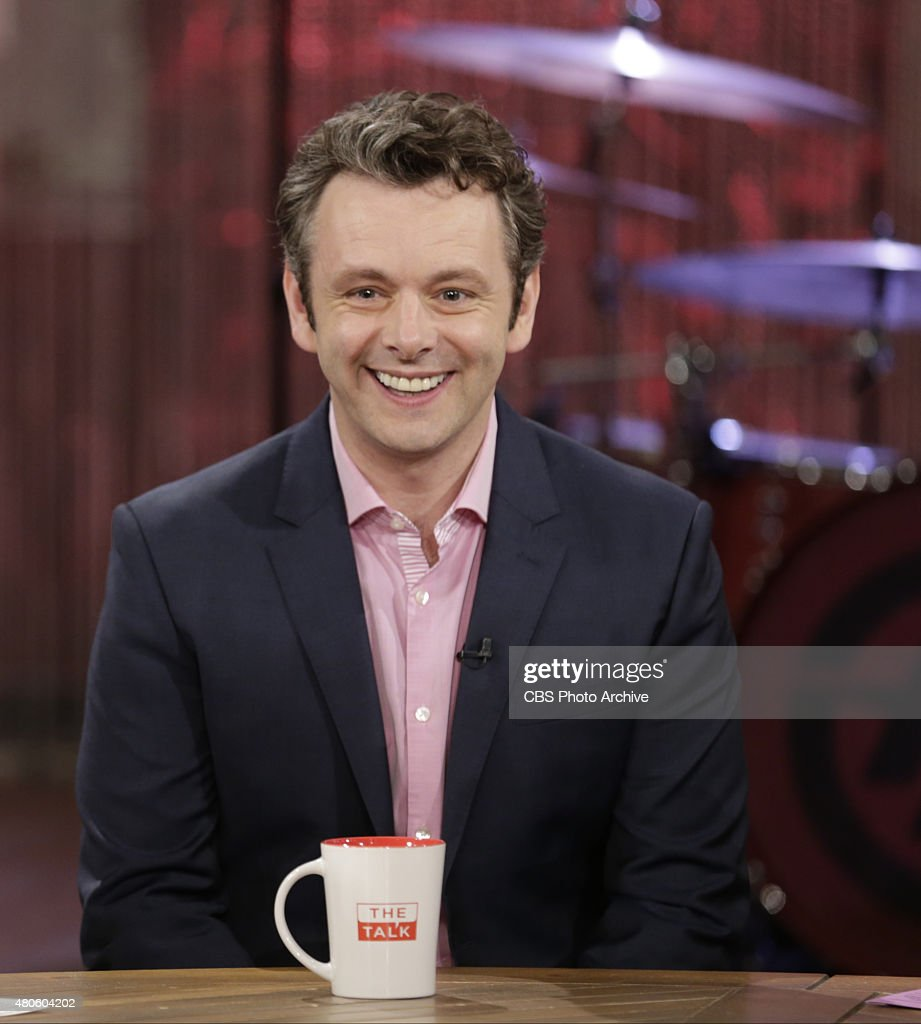 Actor Michael Sheen (Showtime's 'Masters of Sex') visits the ladies of 'The Talk,' Thursday, July 9, 2015 on the CBS Television Network.