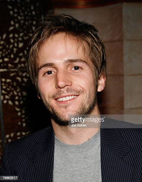 Actor Michael Stahl-David attends the Fall 2008 John Varvatos Fashion Show After Party held at Kiss & Fly club on February 4, 2008 in New York City