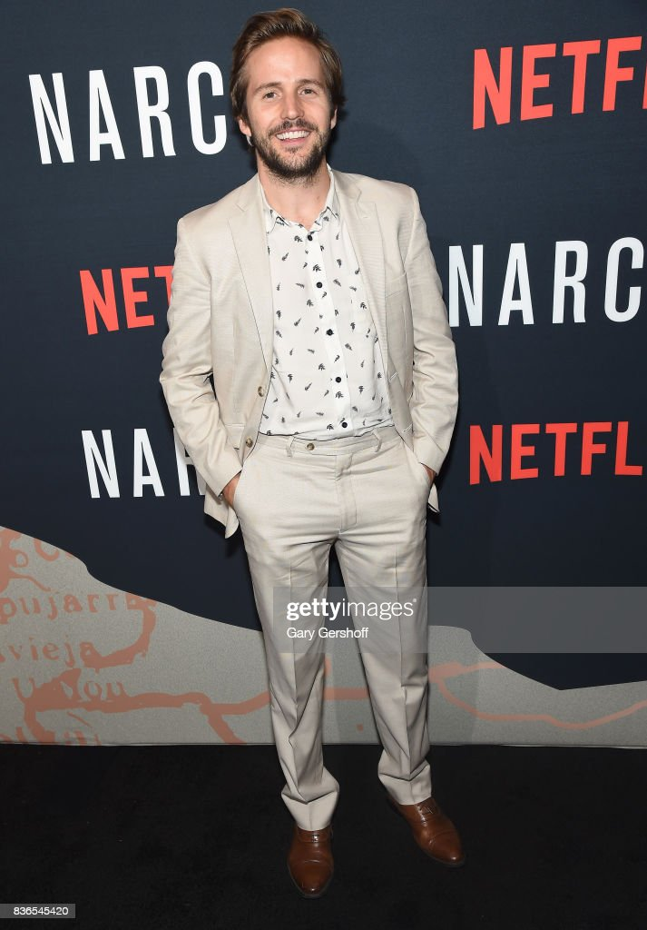 Actor Michael Stahl-David attends the 'Narcos' Season 3 New York screening at AMC Loews Lincoln Square 13 theater on August 21, 2017 in New York City.