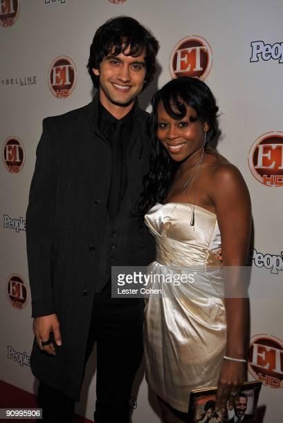 Actor Michael Steger and guest arrive at the 13th Annual Entertainment Tonight and People Magazine Emmys After Party at the Vibiana on September 20...