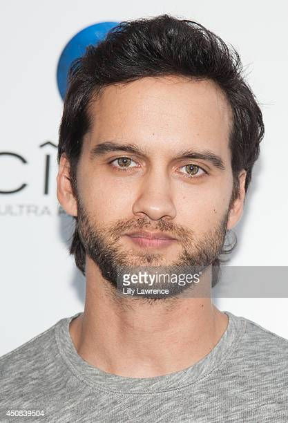 Actor Michael Steger arrives at I Choose Los Angeles Special Screening at Harmony Gold Theatre on June 10 2014 in Los Angeles California