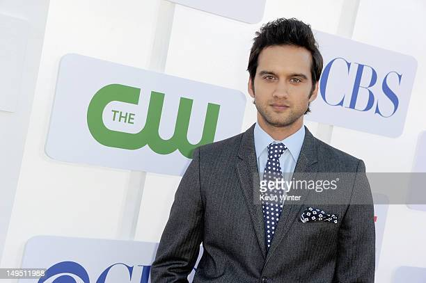 Actor Michael Steger arrives at the CW CBS And Showtime 2012 Summer TCA party held at The Beverly Hilton Hotel on July 29 2012 in Beverly Hills...