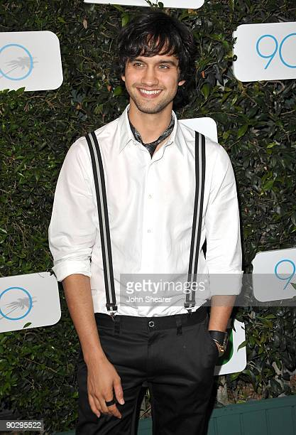 """Actor Michael Steger arrives at the Launch of Season 2 of """"90210"""" hosted by NIKE and The CW at The Ricardo Montalban Theatre on September 1, 2009 in..."""