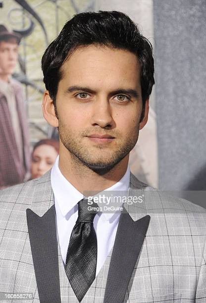 Actor Michael Steger arrives at the Los Angeles premiere of Beautiful Creatures at TCL Chinese Theatre on February 6 2013 in Hollywood California