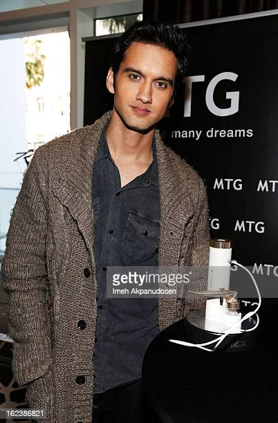 Actor Michael Steger attends Kari Feinstein's PreAcademy Awards Style Lounge at W Hollywood on February 22 2013 in Hollywood California