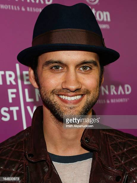 Actor Michael Steger attends the 2013 Tribeca Film Festival LA Reception at The Beverly Hilton Hotel on March 18 2013 in Beverly Hills California
