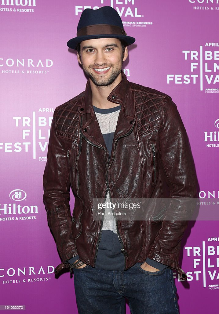 Actor Michael Steger attends the 5th annual Tribeca Film Festival 2013 LA reception at The Beverly Hilton Hotel on March 18, 2013 in Beverly Hills, California.