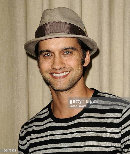 Actor Michael Steger attends the CANPARTY fundraiser event at Palihouse on August 18 2012 in West Hollywood California