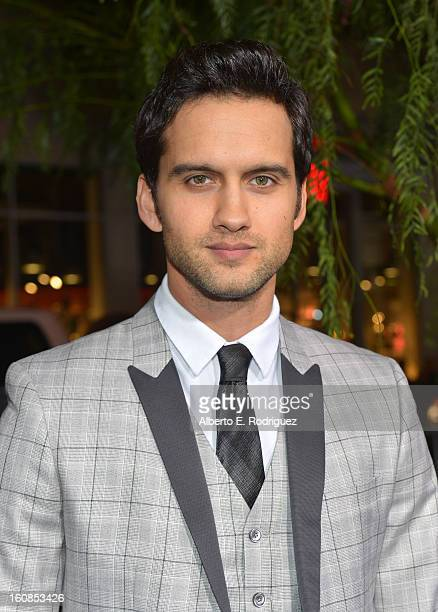 Actor Michael Steger attends the Los Angeles premiere of Warner Bros Pictures' Beautiful Creatures at TCL Chinese Theatre on February 6 2013 in...