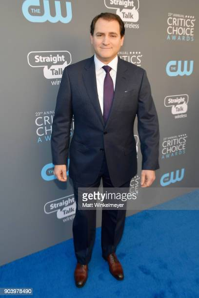 Actor Michael Stuhlbarg attends The 23rd Annual Critics' Choice Awards at Barker Hangar on January 11 2018 in Santa Monica California