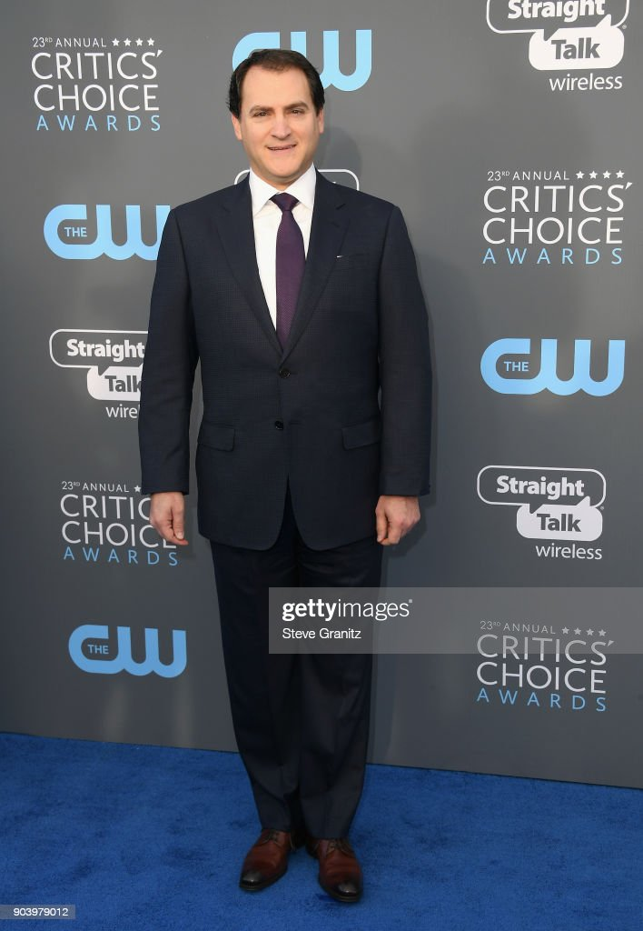 Actor Michael Stuhlbarg attends The 23rd Annual Critics' Choice Awards at Barker Hangar on January 11, 2018 in Santa Monica, California.