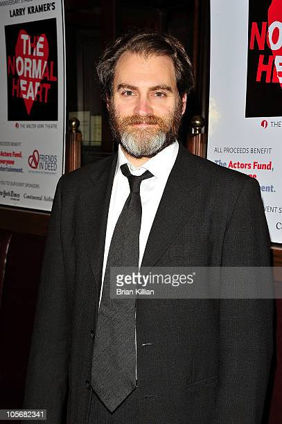 Actor Michael Stuhlbarg attends the 25th Anniversary benefit reading of 'The Normal Heart' at Walter Kerr Theatre on October 18 2010 in New York City