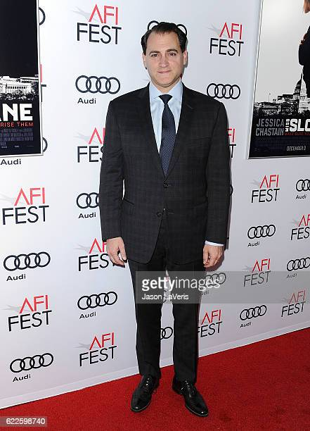Actor Michael Stuhlbarg attends the premiere of Miss Sloane at the 2016 AFI Fest at TCL Chinese 6 Theatres on November 11 2016 in Hollywood California