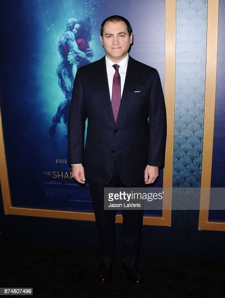 Actor Michael Stuhlbarg attends the premiere of 'The Shape of Water' at the Academy of Motion Picture Arts and Sciences on November 15 2017 in Los...