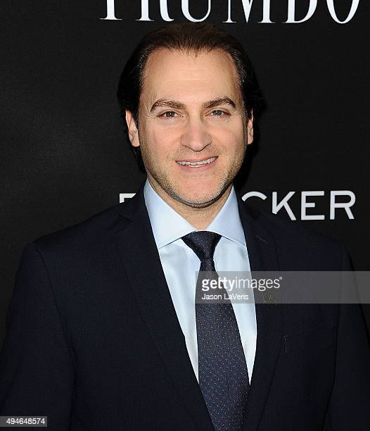 Actor Michael Stuhlbarg attends the premiere of Trumbo at Samuel Goldwyn Theater on October 27 2015 in Beverly Hills California