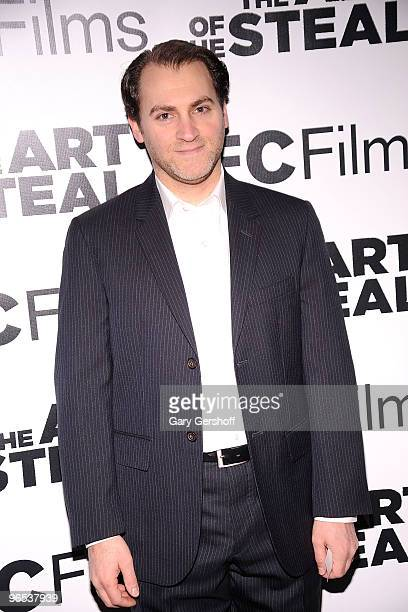 Actor Michael Stuhlbarg attends the The Art of The Steal New York premiere at MOMA on February 9 2010 in New York City