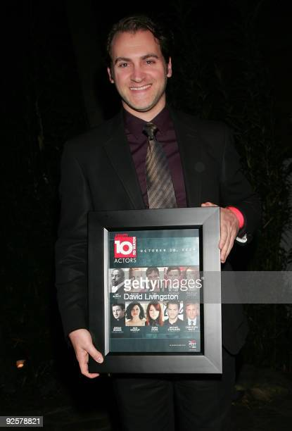 Actor Michael Stuhlbarg attends Variety's 10 Actors To Watch event at The Roosevelt Hotel on October 30 2009 in Hollywood California