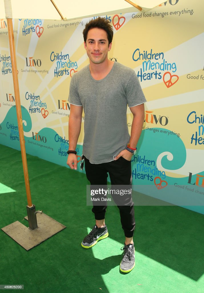 Actor Michael Trevino attends the Children Mending Hearts 6th Annual Fundraiser 'Empathy Rocks: A Spring Into Summer Bash' at a private residence on June 14, 2014 in Beverly Hills, California.