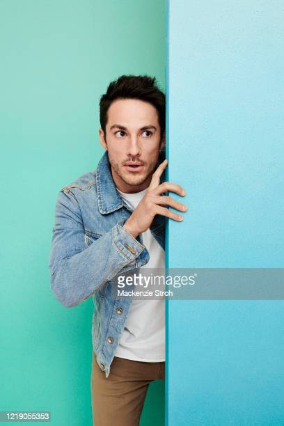 Actor Michael Trevino is photographed for Entertainment Weekly Magazine on February 27, 2020 at Savannah College of Art and Design in Savannah,...