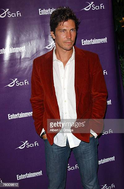 """Actor Michael Trucco of """"Battlestar Galactica"""" attends the Entertainment Weekly and the Sci-Fi Channel 2007 Comic Con Party on July 27, 2007 at the..."""