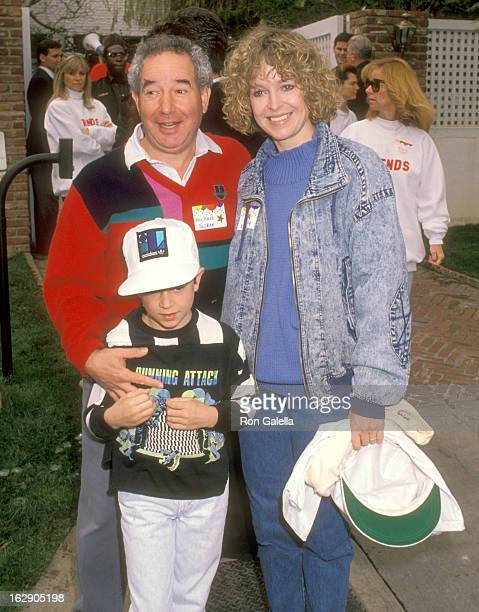 Actor Michael Tucker, actress Jill Eikenberry and son Max Tucker attend Henry Winkler Hosts Annual Brunch to Celebrate the Ninth Annual Celebrity Day...