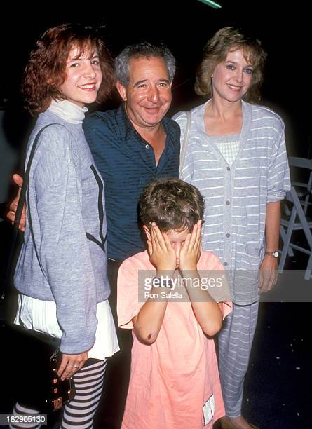 Actor Michael Tucker actress Jill Eikenberry daughter Alison Tucker and son Max Tucker attend 'The Greatest Show on Earth' Ringling Bros and Barnum...