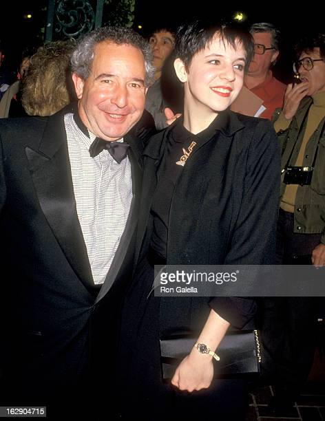 Actor Michael Tucker and daughter Alison Tucker attend the 13th Annual People's Choice Awards After Party on March 15 1987 at Chasen's Restaurant in...