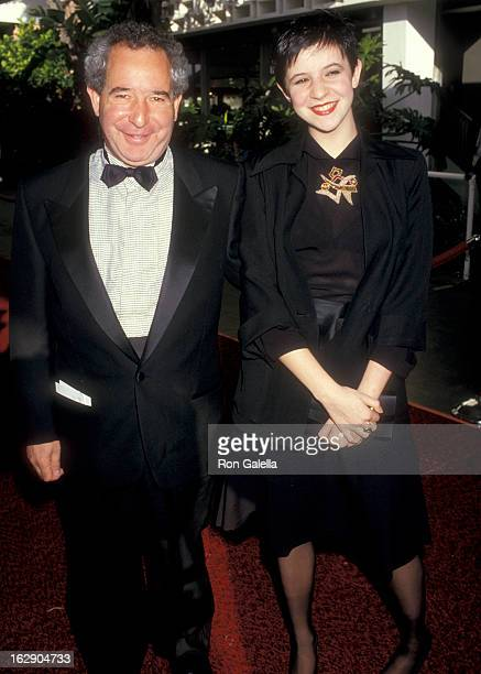 Actor Michael Tucker and daughter Alison Tucker attend the 13th Annual People's Choice Awards on March 15 1987 at Santa Monica Civic Auditorium in...