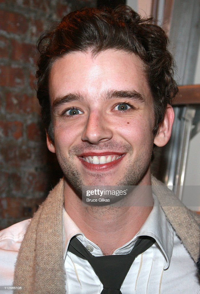 "Michael Urie Visits"" Xanadu"" On Broadway"