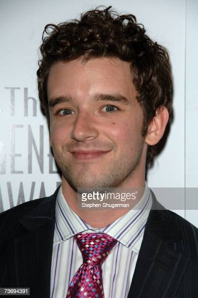 Actor Michael Urie attends the 21st Genesis Awards presented by The Hollywood Humane Society at the Beverly Hilton Hotel on March 24, 2007 in Beverly...