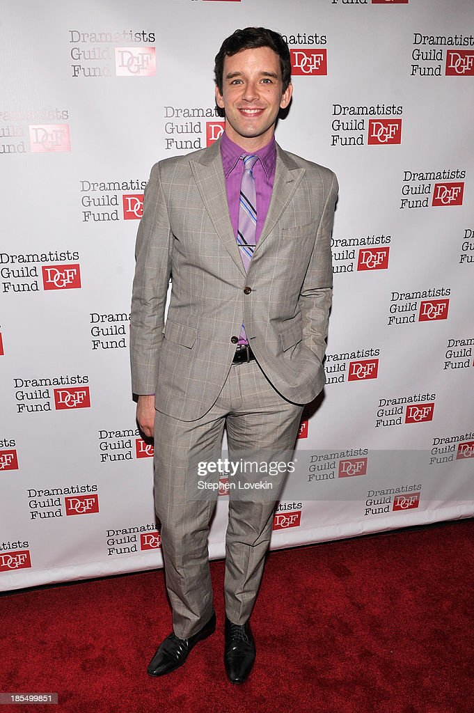 Actor Michael Urie attends the Great Writers Thank Their Lucky Stars annual gala hosted by The Dramatists Guild Fund on October 21, 2013 in New York City.