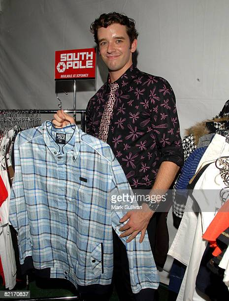 Actor Michael Urie attends the Mattel Celebrity Retreat produced by Backstage Creations at Teen Choice 2008 on August 3 2008 in Universal City...