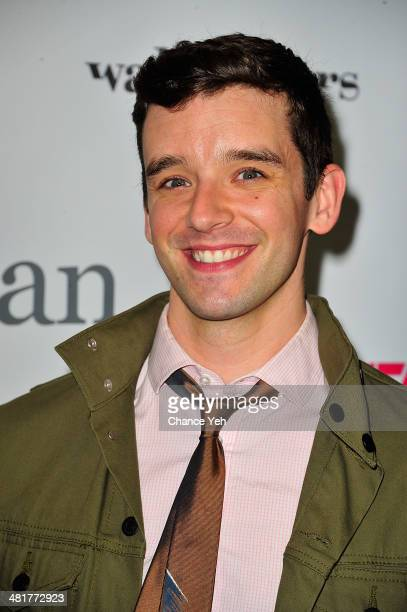 Actor Michael Urie attends the Stage17 Premiere at Walter Reade Theater on March 31 2014 in New York City