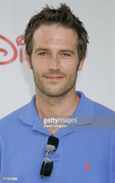 Actor Michael Vartan attends A Time for Heroes Celebrity Carnival sponsored by Disney to benefit the Elizabeth Glaser Pediatric AIDS Foundation on...