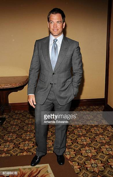 Actor Michael Weatherly arrives at the 47th Annual ICG Publicists Awards at the Hyatt Regency Century Plaza on March 5, 2010 in Century City,...