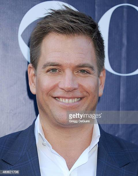 Actor Michael Weatherly arrives at the CBS CW And Showtime 2015 Summer TCA Party at Pacific Design Center on August 10 2015 in West Hollywood...