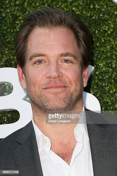 Actor Michael Weatherly arrives at the CBS CW Showtime Summer TCA Party at the Pacific Design Center on August 10 2016 in West Hollywood California