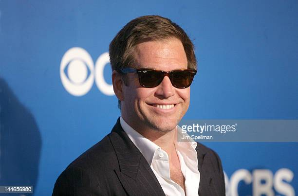 Actor Michael Weatherly attends the CBS Upfront 2012 at The Tent at Lincoln Center on May 16 2012 in New York City