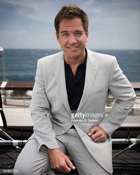 ACCESS*** Actor Michael Weatherly attends the 'NCIS' portrait session at Grimaldi Forum during the annual Monte Carlo Television Festival on June 9...