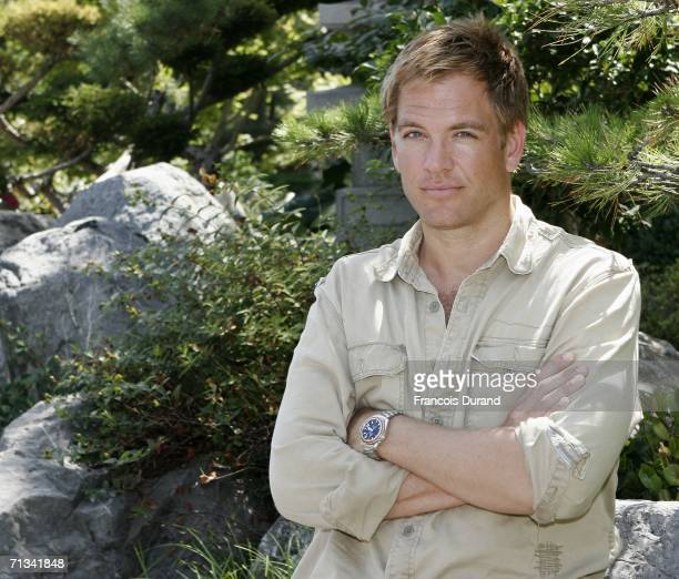 US actor Michael Weatherly attends the photocall of 'Navy NCIS Naval Criminal Investigative Service' during the 46th annual Monte Carlo Television...