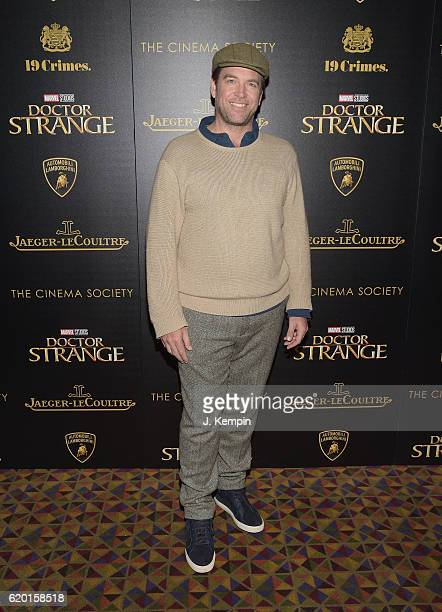 Actor Michael Weatherly attends the Screening Of Marvel Studios' Doctor Strange at AMC Empire on November 1 2016 in New York City