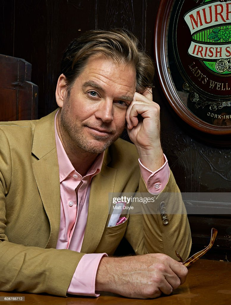 Michael Weatherly, Back Stage, September 14, 2016