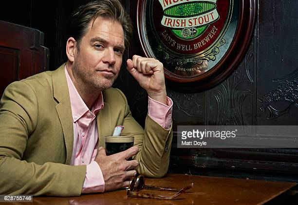 Actor Michael Weatherly is photographed for Back Stage on September 14 in New York City PUBLISHED IMAGE