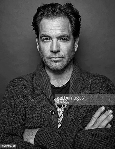 Actor Michael Weatherly is photographed for Back Stage on September 14 in New York City