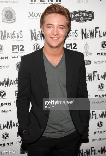 Actor Michael Welch arrives at Lost Dream Los Angeles Premiere at the Stanley Kramer Theater on May 7 2009 in Hollywood California
