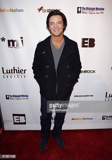 Actor Michael Welch arrives at the Everything Burns In Hollywood Red Carpet Charity Drive at The Roxy Theatre on March 2 2010 in West Hollywood...