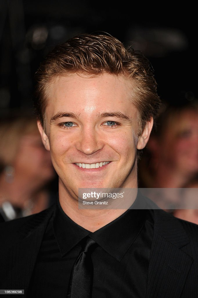 Actor Michael Welch arrives at 'The Twilight Saga: Breaking Dawn - Part 2' Los Angeles premiere at Nokia Theatre L.A. Live on November 12, 2012 in Los Angeles, California.